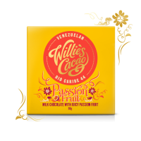 Čokoláda Willie's Cacao Passion Fruit, mliečna, 50g