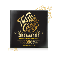 Čokoláda Willie´s Indonesian Gold, Javan light breaking horká 69%, 50g